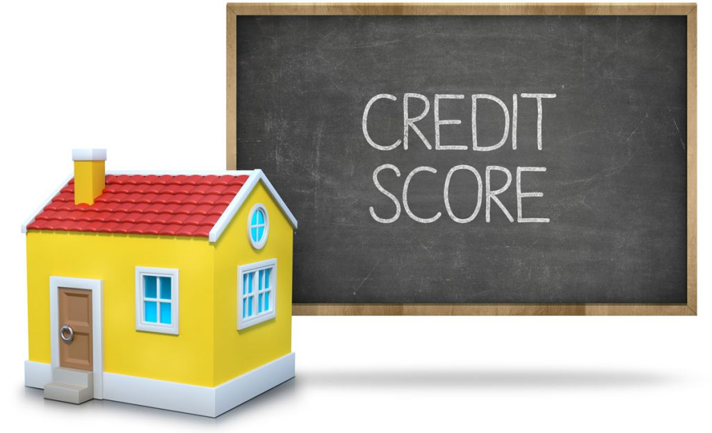 What credit score is needed to rent a house?