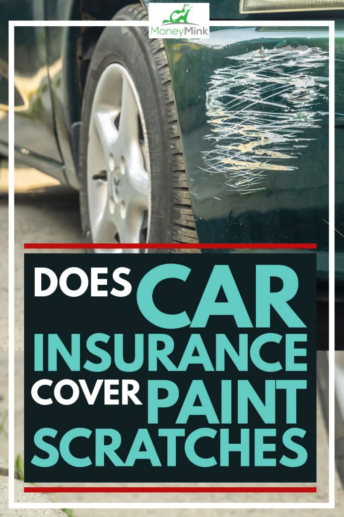 Front car scratches due to car accident, Does Car Insurance Cover Paint Scratches?