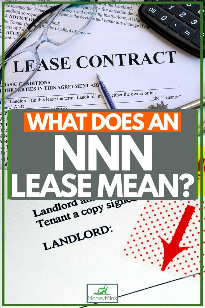 NNN lease form for signage