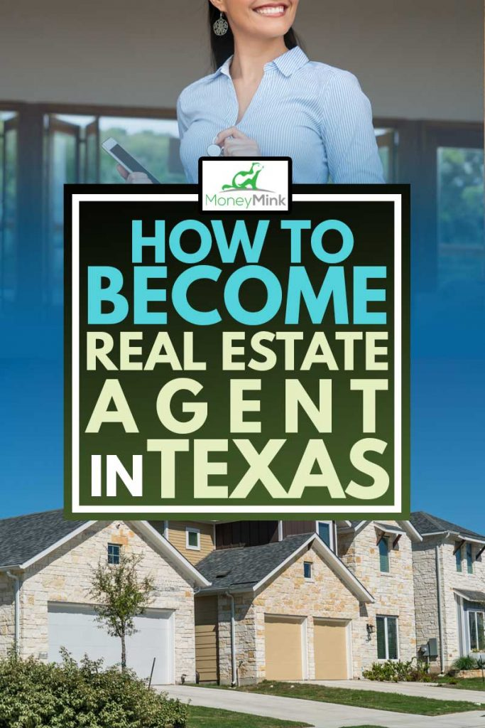 How to Become a Real Estate Agent in Texas?, A real estate agent in Texas holding a tablet and a home key