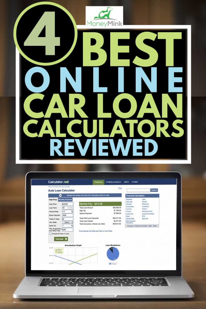a laptop showing a online car loan calculator, 4 Best Online Car Loan Calculators Reviewed