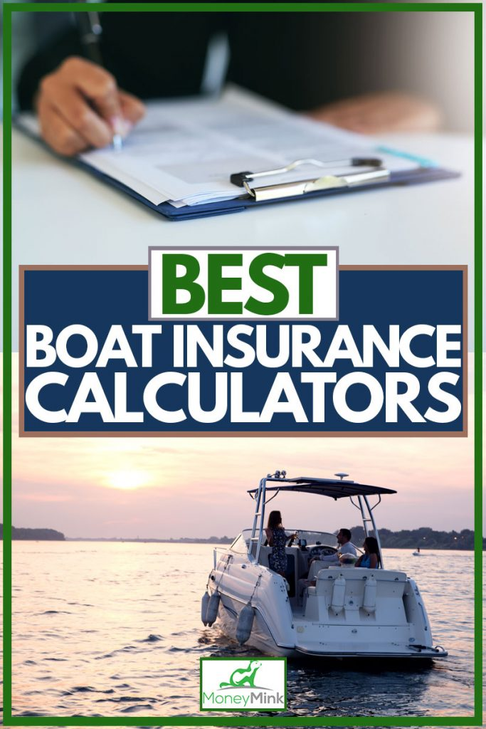Man signing papers for his boat insurance, Best Boat Insurance Calculators