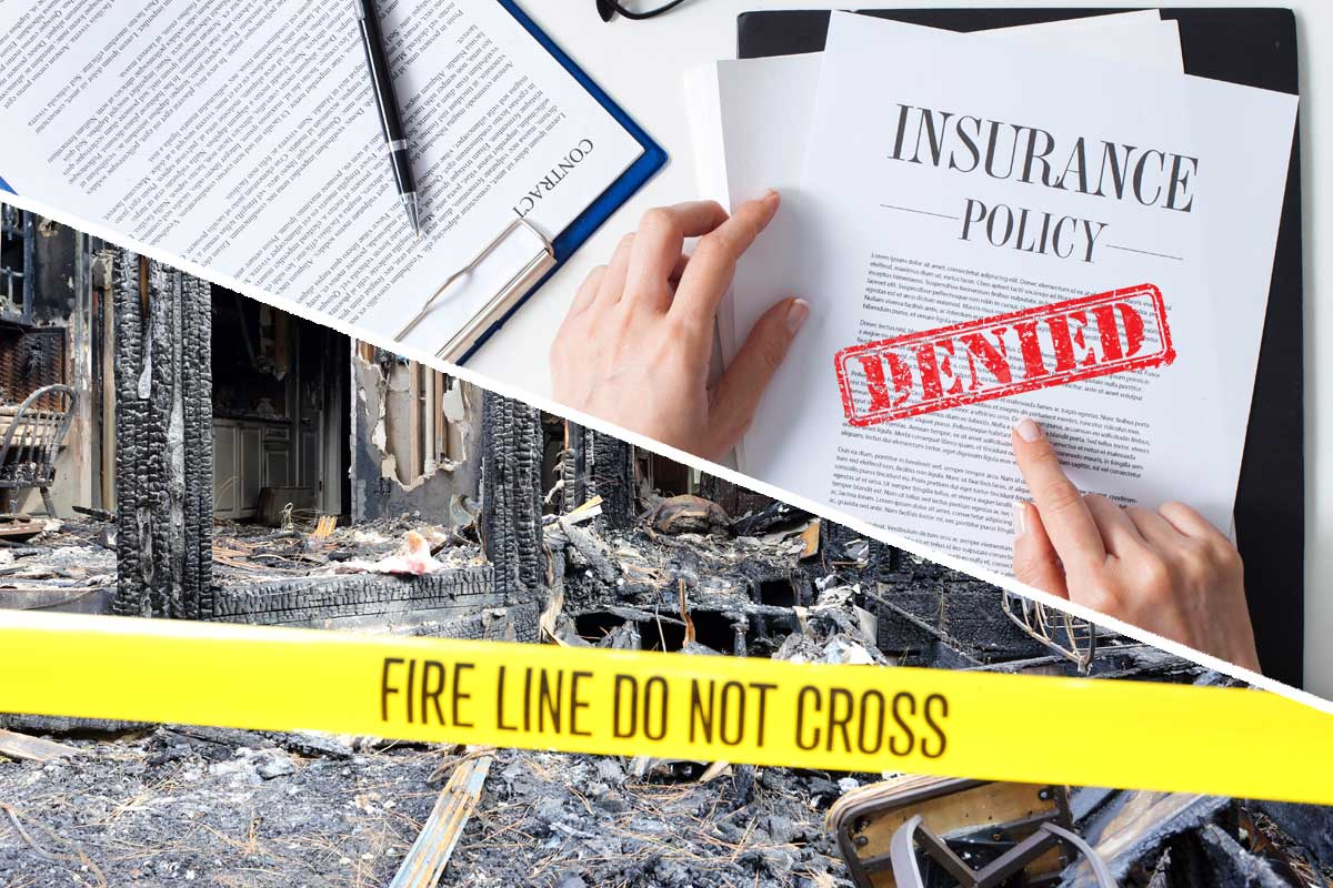 8 Top Reasons Insurance Companies Deny Fire Claims