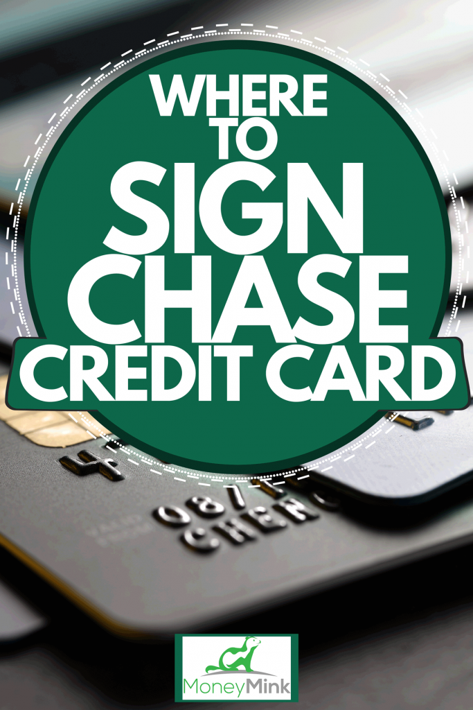 Stacked credit cards on a gray background, Where To Sign Chase Credit Card